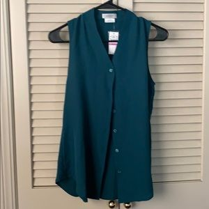 NWT sleeveless work blouse